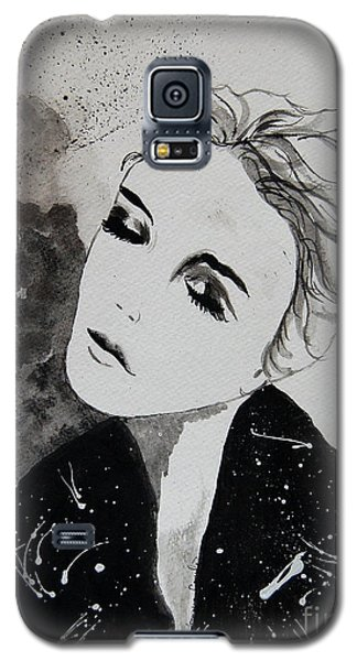 Galaxy S5 Case featuring the painting Out On The Town by Tamyra Crossley