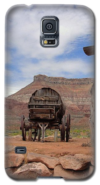 Galaxy S5 Case featuring the photograph Out West by Natalie Ortiz