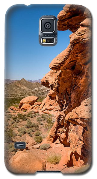 Galaxy S5 Case featuring the photograph Outcrop - Valley Of Fire State Park by  Onyonet  Photo Studios