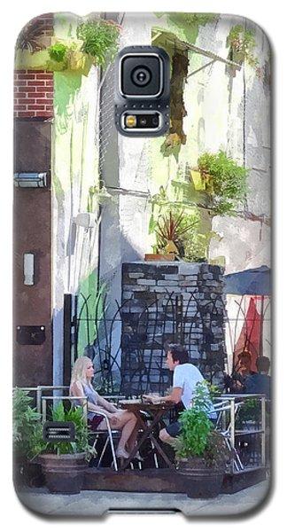 Outdoor Cafe Philadelphia Pa Galaxy S5 Case