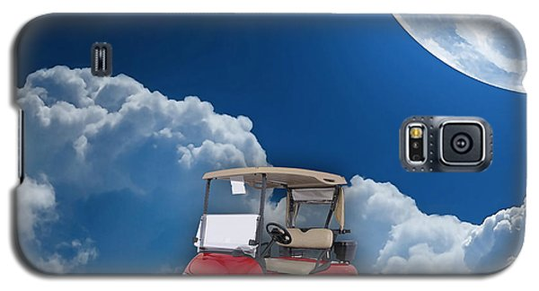 Outdoor Golfing Galaxy S5 Case