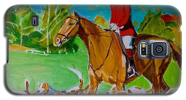 Galaxy S5 Case featuring the painting Outfoxed by Judy Kay