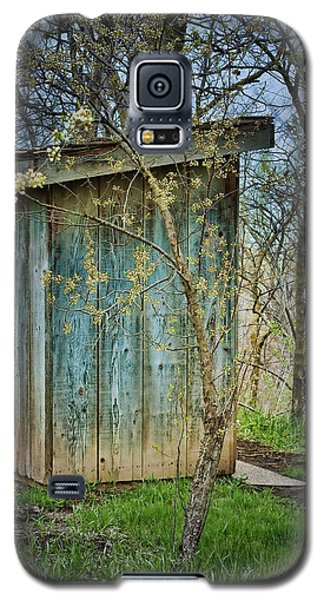 Outhouse In Spring Galaxy S5 Case