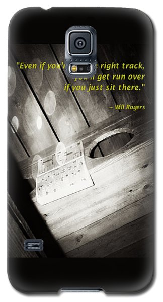 Outhouse Inspiration Will Rogers 1 Galaxy S5 Case
