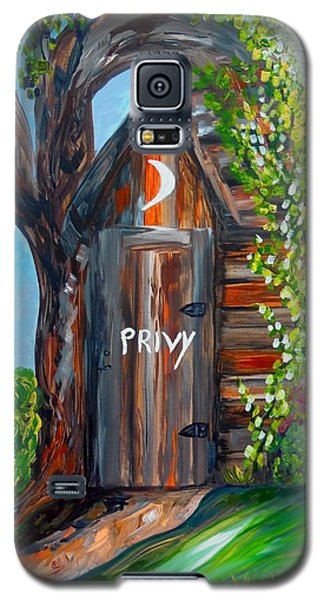 Outhouse - Privy - The Old Out House Galaxy S5 Case by Eloise Schneider