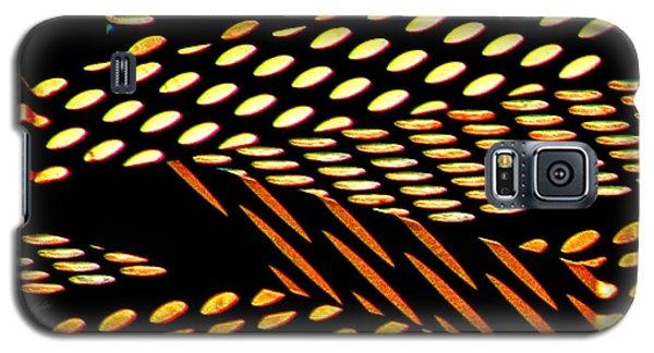 Ovals Of Light Galaxy S5 Case