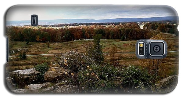 Over The Battle Field Of Gettysburg Galaxy S5 Case by Amazing Photographs AKA Christian Wilson