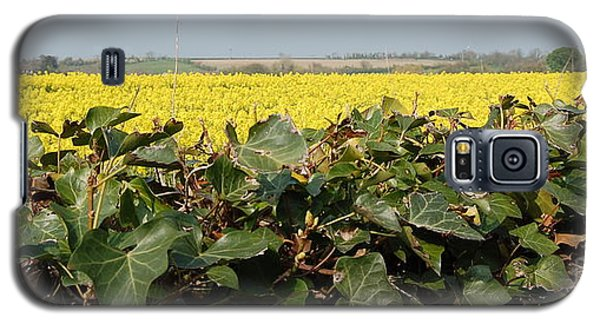 Galaxy S5 Case featuring the photograph Over The Hedge by Linda Prewer