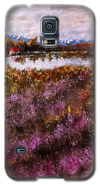 Over The Lavender Field.. Galaxy S5 Case