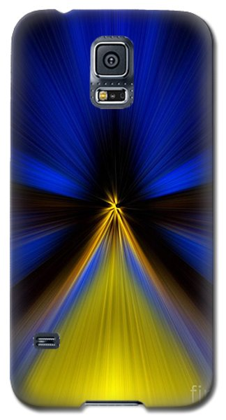 Over Yellow Galaxy S5 Case by Trena Mara
