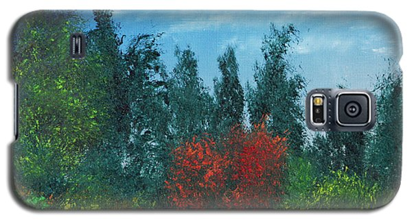 Galaxy S5 Case featuring the painting Overgrown by Jennifer Muller