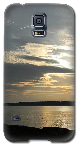 Galaxy S5 Case featuring the photograph Overhead by Jean Goodwin Brooks
