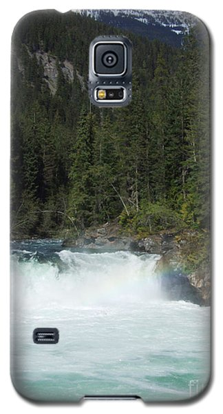 Overlander Falls - Fraser River Galaxy S5 Case by Phil Banks