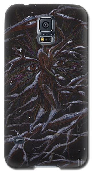 Galaxy S5 Case featuring the drawing Overnight by Dawn Fairies