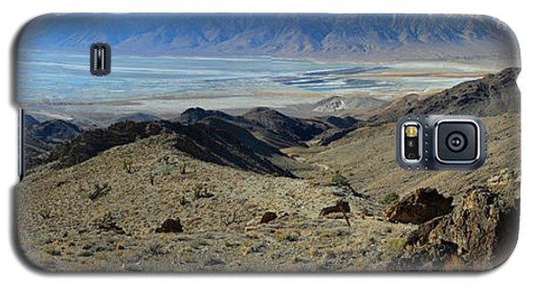Owens Lake And Sierra Nevada Panorama November 17 2014 Galaxy S5 Case