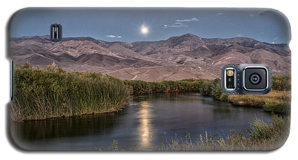 Owens River Moonrise Galaxy S5 Case