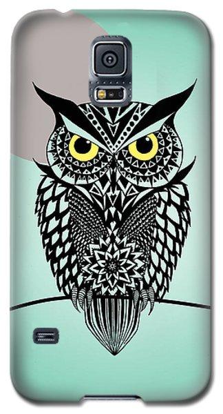 Owl 5 Galaxy S5 Case by Mark Ashkenazi