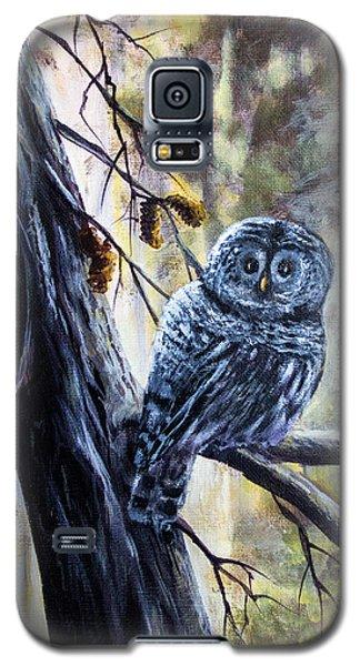 Owl Galaxy S5 Case by Bozena Zajaczkowska