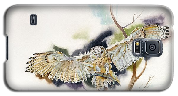 Owl Catches Lunch Galaxy S5 Case