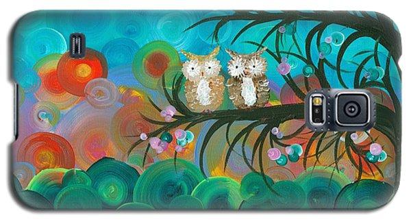 Owl Couples - 02 Galaxy S5 Case