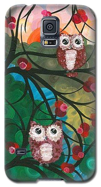 Owl Couples - 03 Galaxy S5 Case