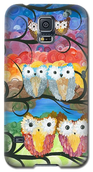 Owl Expressions - 00 Galaxy S5 Case