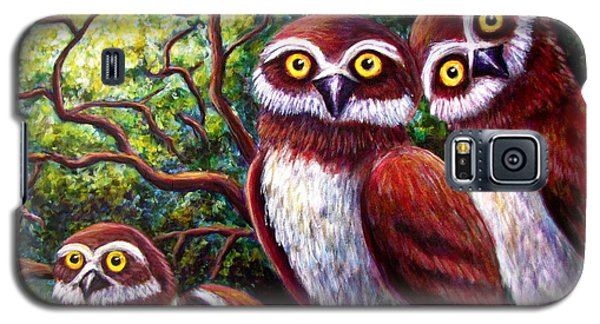 Owl Family Galaxy S5 Case