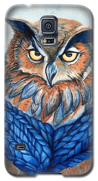 Owl In A Cowl Galaxy S5 Case