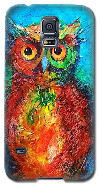 Owl In The Night Galaxy S5 Case by Faruk Koksal