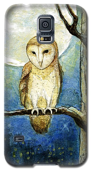 Galaxy S5 Case featuring the painting Owl Moon by Terry Webb Harshman