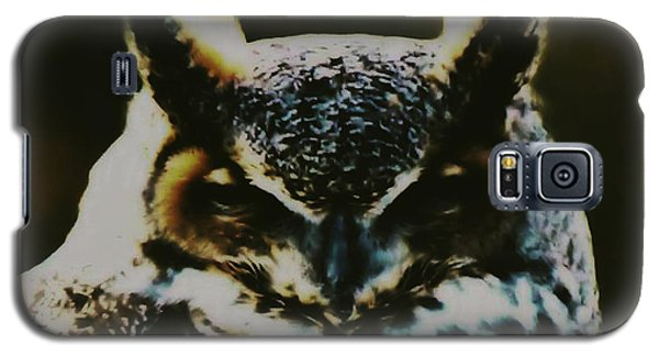 Owl Portrait Galaxy S5 Case
