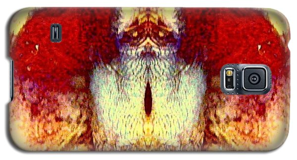 Owl Tree Galaxy S5 Case by Karen Newell