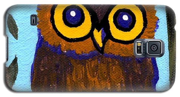 Owlette Galaxy S5 Case by Genevieve Esson