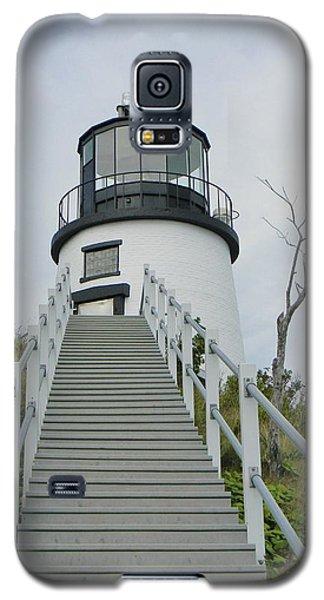 Owls Head Lighthouse Galaxy S5 Case by Jean Goodwin Brooks
