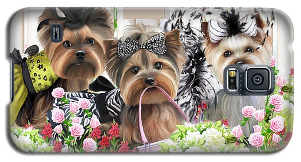 Owned By Yorkies II Galaxy S5 Case
