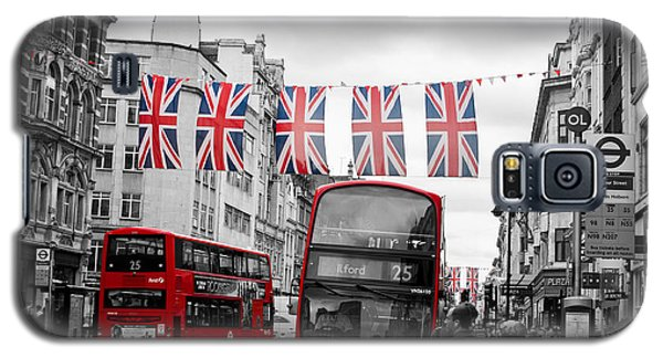 Oxford Street Flags Galaxy S5 Case by Matt Malloy