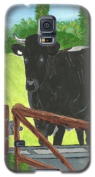 Oxleaze Bull Galaxy S5 Case by John Williams