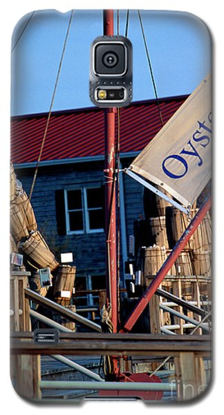 Oystering History At The Maritime Museum In Saint Michaels Maryland Galaxy S5 Case