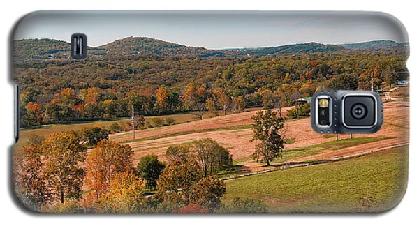 Galaxy S5 Case featuring the photograph Ozark Hills by Lena Wilhite