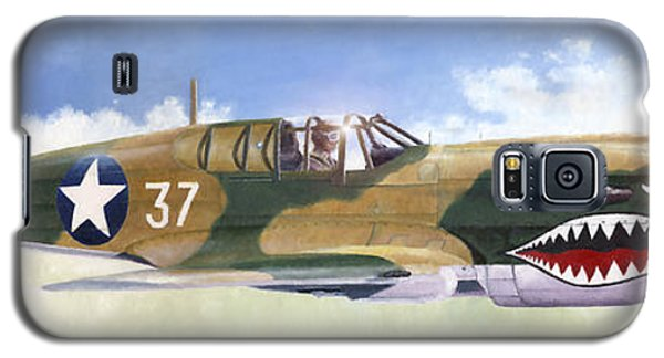 P-40e Warhawk Galaxy S5 Case
