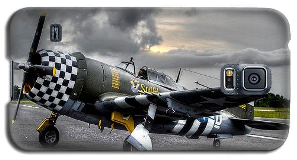 P-47 Sunset Galaxy S5 Case