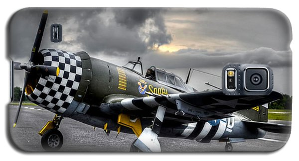 P-47 Sunset Galaxy S5 Case