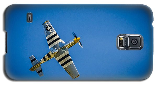 P-51 Invasion Stripes Galaxy S5 Case by Bradley Clay