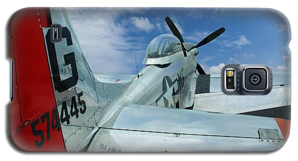Galaxy S5 Case featuring the photograph P-51 Mustang Pecos Bill by Rod Seel