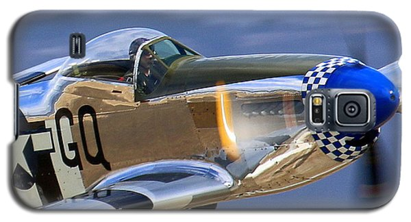 Grim Reaper P51 Mustang At Salinas Air Show Galaxy S5 Case