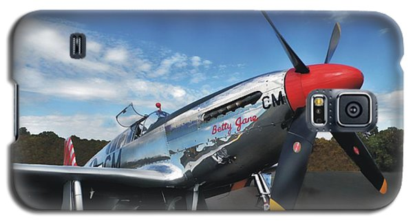 P-51 Mustang Betty Jane Galaxy S5 Case