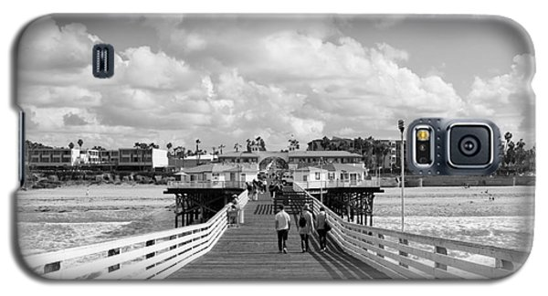 Pacific Beach From Crystal Pier Galaxy S5 Case