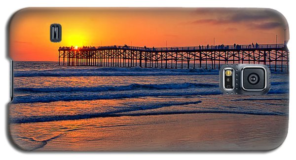 Pacific Beach Pier - Ex Lrg - Widescreen Galaxy S5 Case