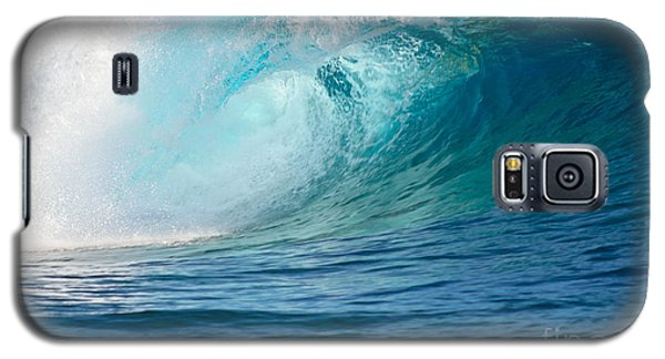 Pacific Big Wave Crashing Galaxy S5 Case