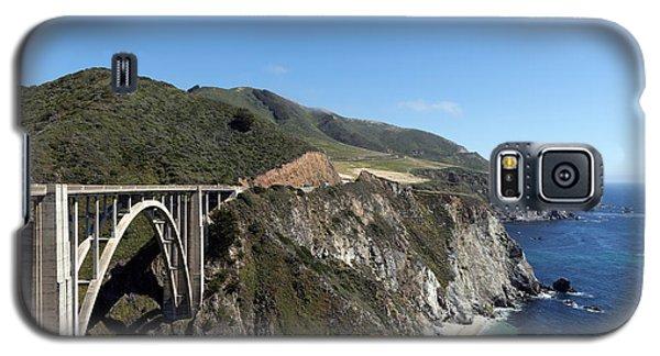 Pacific Coast Scenic Highway Bixby Bridge Galaxy S5 Case